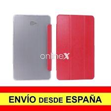 Funda Carcasa FLIP SMART COVER Para Tablet SAMSUNG GALAXY T580 ROJO  A3471