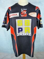 Maillot rugby Taille XL - Porté - BOURGES XV - N°5