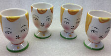 Egg Cup Holders Ceramic Set of 4