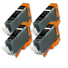 4 BLACK Ink Cartridge for Canon Printer CLI-221BK MP640 MX860 MX870