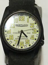 Bertucci A4-T Titanium Tritium Watch