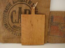 Grande planche artisanale à découper en chêne, billot à découper en bois. AS