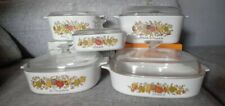 Corning Ware Sets Vintage from 1980