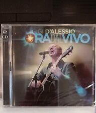Ora Dal Vivo (2 Cd - Gigi D'Alessio) Nuovo e Sigillato