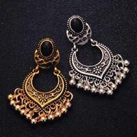 Ear Vintage Bohomia Gold/Silver Plated Charm Tassel Drop Dangle Earrings xmas