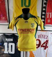 Maillot jersey maglia camiseta shirt fc Nantes 05/06 2005 2006 m fcna airness