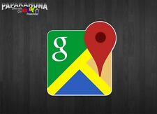 "9"" Google Maps Vinyl Graphics Decal Sign Cash Register Display Case Sticker"