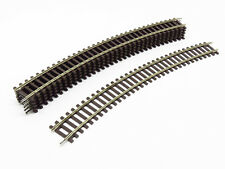 ROCO LOT 6 RAILS COURBES R4 481,2 mm 30° CODE 83 REF. 42424 - ECHELLE H0 1/87