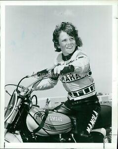 1970s Young Randy Mamola Grand Prix Racer Original News Service Photo