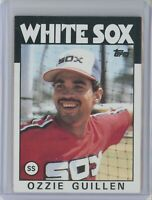 1986 Topps #254 OZZIE GUILLEN Rookie RC (White Sox)