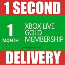 1 MONTH GOLD - Xbox Live Membership Pass - Instant Delivery - Xbox One, Xbox 360
