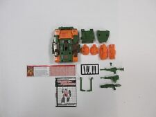 1985 G1 TRANSFORMERS ROADBUSTER NEAR COMPLETE ROBOT W/ TECH SPECS INSTRUCTIONS