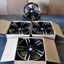 """Fits BMW 5 6 Series M6 Sport Style 437 in Black Machined Rims 19"""" Wheels"""