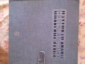 Johnny Hallyday jean's coffret vg+++ pochette et disques État Neuf