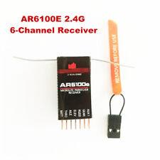 AR6100E DSM2 2.4GHz ML 6-Channel Microlite Receiver for JR SPECTRUM/RC Plane HOT
