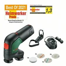 Bosch 12V Akku-Tellerschleifer & Polisseur Easycurvsander 12 1x Batterie 2,5 Ah