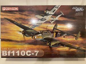 Dragon  Wing Tech Messerschmitt  BF-110 C-7 Factory Seal In Box Scale 1:32