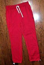 Polo Ralph Lauren Fleece Red Navy Sweatpants Size S
