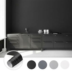 5M Möbelfolie Matt Klebefolie Küchenfolie Schrankfolie Dekofolie Selbstklebend
