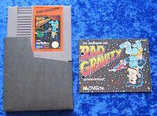 Rad Gravity, Anleitung, Nintendo NES Spiel