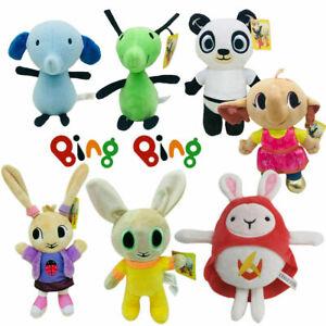 Bing Bunny Hoppity Voosh Coco Sula Flop Pando Friend Soft Plush Kids Toy Gift