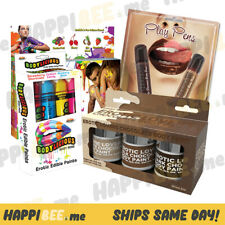 Erotic Lovers Chocolate Body Paint�Flavored Edible Foreplay Drawing Massage Oil