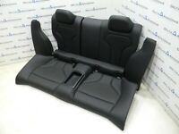 BMW M F82 m4 Hintersitze Sportsitze Sitze Rear Seats Leder Leath MERINO SCHWARZ