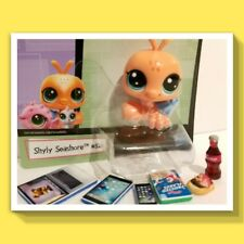 🎀 LPS Shyly Seashore Littlest Pet SHOP #52 and 6 ACCESSORIES NIB