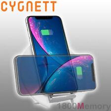 Cygnett Prime 10W Qi Wireless Desk Charger Pad White for Apple Samsung LG Sony