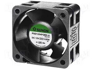 PSD1204PQBX-A SUNON Fan: DC; 12VDC; 40x40x28mm; 39.78m3/h; 59.9dBA NEW