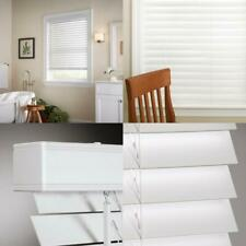 White Cordless 2 In. Faux Wood Blind - 44 In. W X 64 In. L (Actual Size 43.5 In.