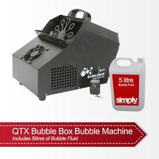 QTX bulle Box Bulle Machine Inc. filaire et sans fil à distance Inc. 5 L Liquide