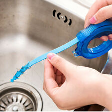 Kitchen Sink Drain Snake Brush Waste Hair Clog Removal Bathtub Cleaning Tool Kit
