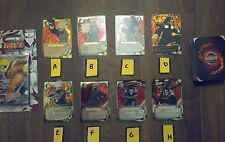 60 NARUTO CARDS ASSORTED FIRE LOT DECK CHOOSE WHICH DECK YOU WANT! READ DECSRIP