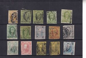 0286 Mexico Nice lot older stamps mixed quality see scan