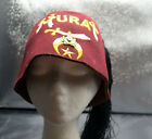 Shriners Mura Fez Hat with Pin