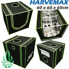 HARVEMAX Hydroponics 60x60x60cm Mylar Grow Tent Fo Seedling Cutting Indoor Grow