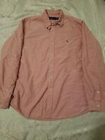 Polo Ralph Lauren Men's Classic Fit Button Down Red Oxford Shirt Size XL