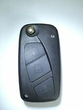 New 3 Button Folding Remote Key Shell Key Case For Fiat Punto Ducato Stilo Panda