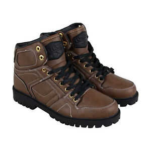 Osiris Dcn Boot 1344 559 Mens Brown Leather Skate Inspired Sneakers Shoes 6