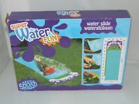 SUPER WATER FUN SLIDE 488CM X  71CM ATTACH TO HOSE PIPE OUTDOOR TOYS