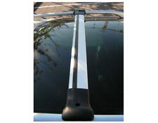 Conjunto De Riel Alu Barra transversal para adaptarse a Techo Barras Laterales para caber Volkswagen Caddy (2004-15)