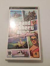 Grand Theft Auto Vice City Stories para PSP pal España completo con mapa-poster