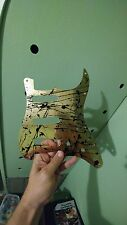 Fender usa stratocaster 1994 Custom shop Aluminum pickguard gold black splatter