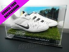 ✺Signed✺ CAMERON LING & TOM HARLEY Boots PROOF COA Geelong Cats 2018 Guernsey