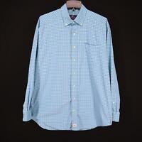 Mens Vineyard Vines Performance Classic Fit Murray Shirt Size Large L 100% Nylon