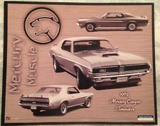 "1969 Mercury Cougar Elimator 8"" X 10"" Car Poster O/P Rare! Own It!!"