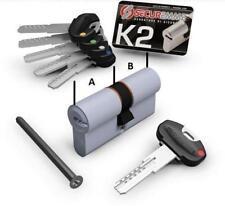 Cilindro K2 cilindri europeo Securemme serratura chiavi antitrapano 35x50mm