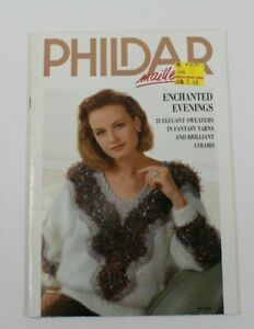 Phildar Maille Vintage Knitting Designs Enchanted Evenings 21 Elegant Sweaters