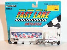 1991 Fast Lane Anteater Kenworth Diet Pepsi Semi Tractor Trailer - Ho Scale